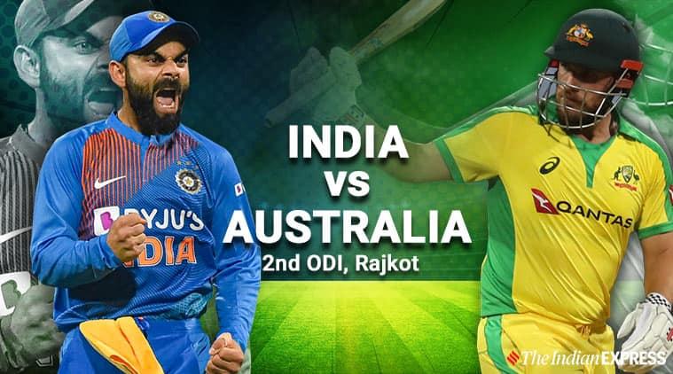 India vs Australia 2nd ODI Live Cricket Score Updates: Smith hits fifty in run chase of 341