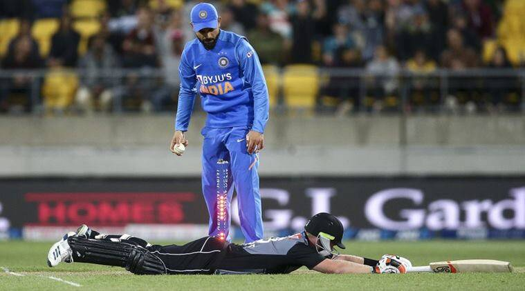 INDvNZ super over, second super over IndvNZ, India beat NZ again in Super over, India's super overs, New Zealand's 6th Super Over defeat, Tim Southee Super Over