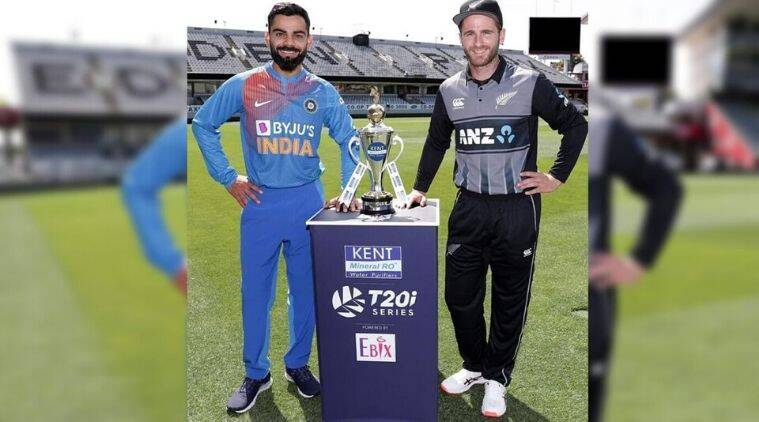 India vs New Zealand, Ind vs NZ, Ind vs NZ T20, Ind vs Nz 1st T20, India vs New Zealand T20, Ind vs NZ match, India vs New Zealand match, Virat Kohli, KL Rahul, Kane Williamson, Cricket news, Sports news, Indian Express
