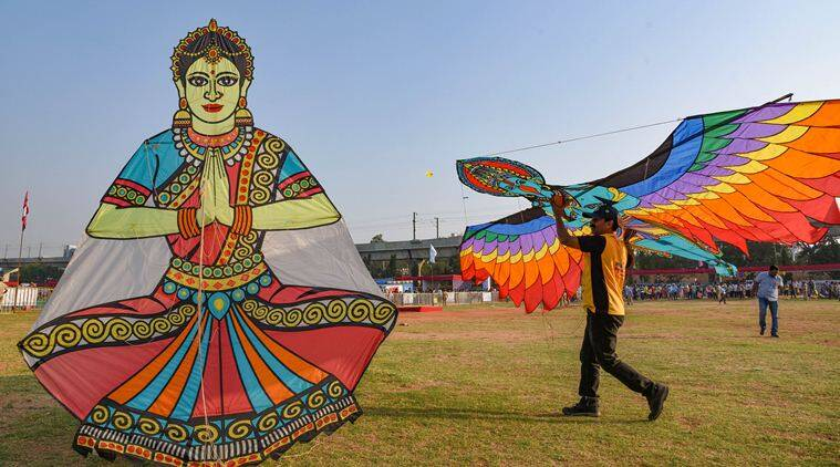 makar sankranti, makar sankranti 2020 kite flying, international kite celebration