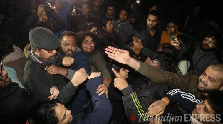 JNU, JNU violence, Delhi JNU news, JNU news, Delhi news, JNU latest news, JNU violence Delhi, JNU violence news, Indian Express