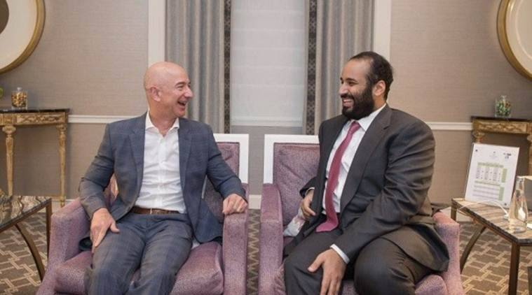 Jeff Bezos phone hack began with Saudi goodwill tour, intimate dinner