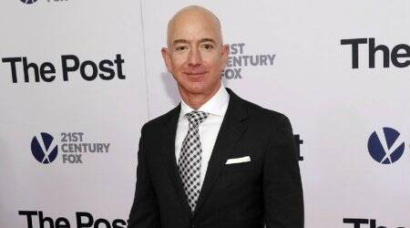 Jeff Bezos, Bezos phone hacked, Jeff Bezos phone WhatsApp hack, Mohammad Bin Salman, MBS, Who is MBS, Mohammad Bin Salman Bezos hacking, Lauren Sanchez, Jeff Bezos girlfriend