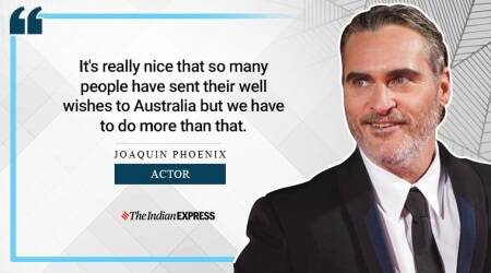 Joaquin Phoenix, climate change, indianexpress.com, indianexpress, best actor Joaquin Phoenix, Golden Globes, Golden Globe Awards, indianexpress.com, indianexpress, life positive, inspring speech, Joaquin Phoenix inspiring talk, Joaquin Phoenix climate change, Joaquin Phoenix environment,