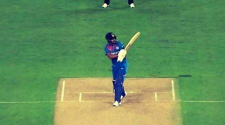 KL Rahul, Shreyas Iyer, Virat Kohli, KL Rahul flick, India vs New Zealand 1st T20I, Auckland T20I, IND vs NZ 1st T20I, India tour of New Zealand 2020