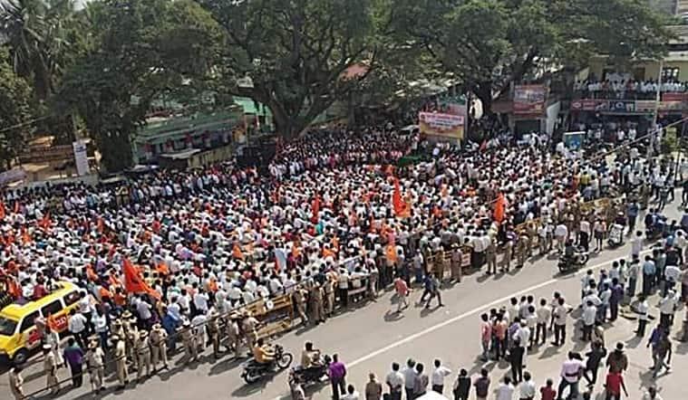Kanakapura-protests-jesus-christ-statue-shivakumar-rss-bjp-right-wing
