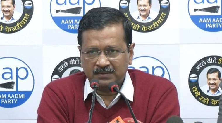 'People of Delhi will decide': Arvind Kejriwal on BJP's 'terrorist' jibe