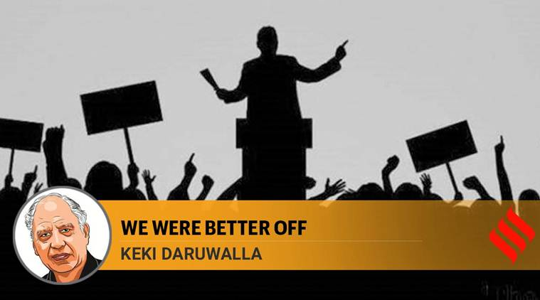 We were better off: Debates used to be about ideas, ideologies. It's a tawdry discussion now