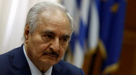Libya's rival military commander Khalifa Haftar seeks support in Greece