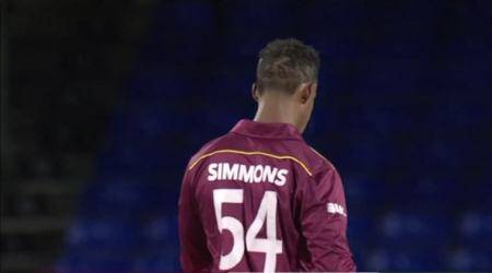 West Indies vs Ireland 3rd T20I, Ireland vs West Indies 3rd T20I, WI vs IRE 2020, IRE vs WI 2020, Lendl Simmons, Lendl Simmons 10 sixes, Lendl Simmons 91, Ireland tour of West Indies 2020