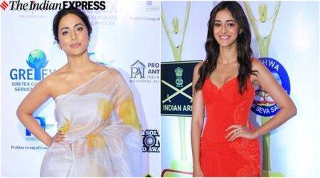 Lions Gold Awards: Hina Khan, Ananya Panday, Kunal Kemmu and others attend