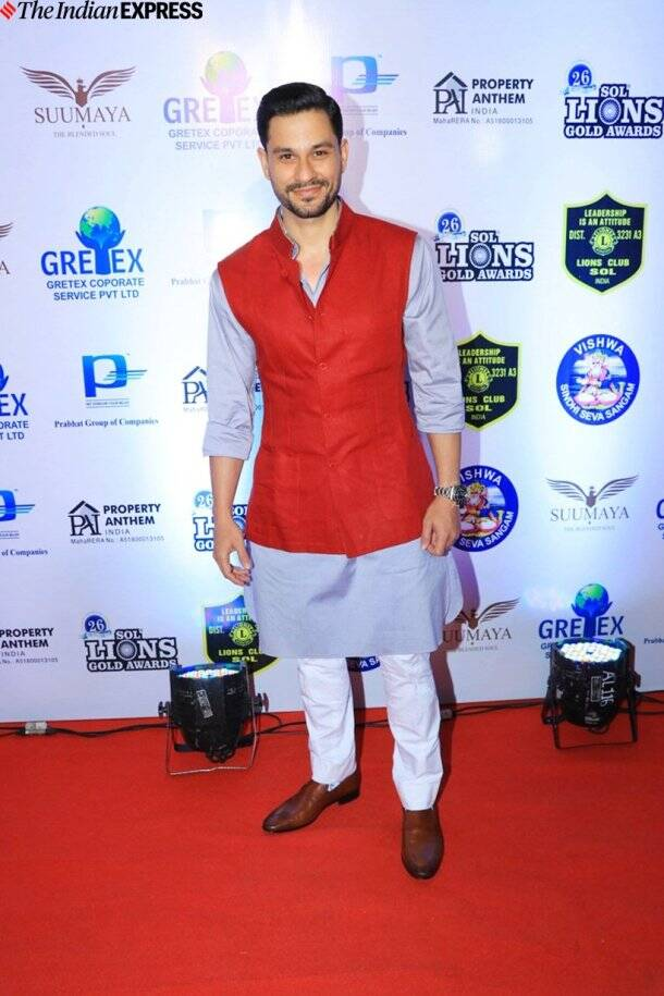 kunal kemmu at Lions Gold Awards 2020