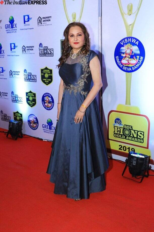 jaya prada at Lions Gold Awards 2020