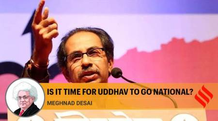 maharashtra chief minister uddhav thackeray, thackeray shiv sena maharashtra, maharashtra shiv sena congress ncp alliance, uddhav thackeray, meghnad desai indian express