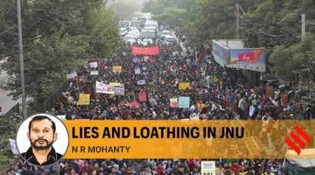 JNU attack, JNU violence, ABVP, JNU fee hike protest, indan express opinion, indian express news