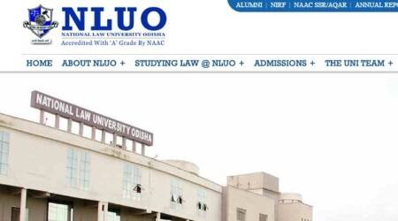 nluo.ac.in, National Law University, Odisha, NLU Odisha, National Law University, Law University, NLU state students, NLU students, Education News, Indian Express, Indian Express News