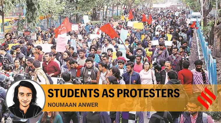 Students are protesting because of our education, not despite it