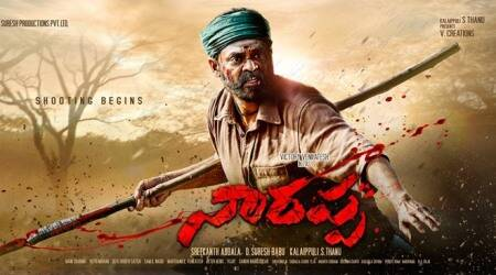 First look: Venkatesh Daggubati in Naarappa