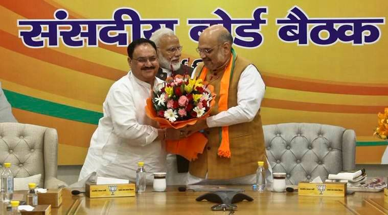 JP Nadda, BJP chief, amit shah, BJP president, JP nadda appointed as BJP president, BJP chief election