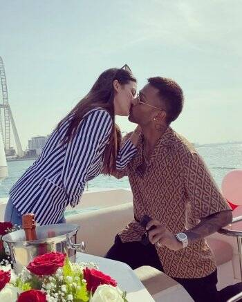 Here's how Hardik Pandya proposed to Natasa Stankovic   Entertainment  Gallery News,The Indian Express