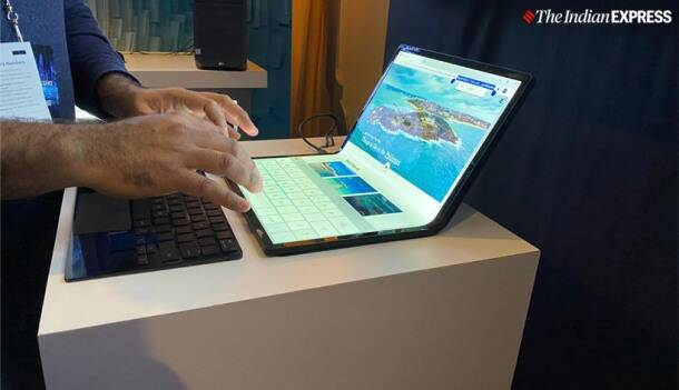 Intel's concept project Athena Tablet