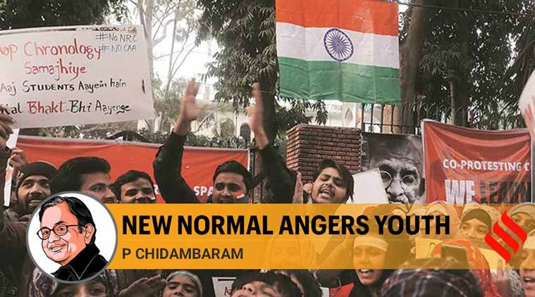 jnu protests, jamia protests, students protest in india, anti caa protests, nrc protests, p chidambaram indian express