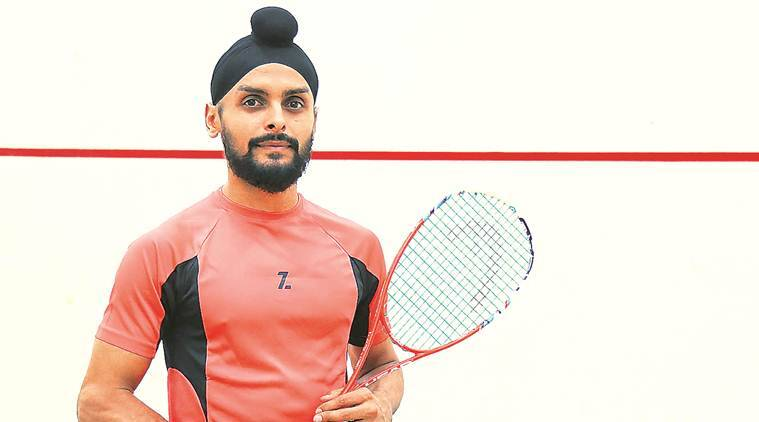 Mohali news, mohali city news, professional Squash Association, PSA tournament, CCI International, Mohali squash player Harinder Pal Sandhu, indian express news