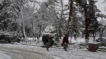 Pakistan snowfall, snowfall in Blochistan, balochistan snowfall death toll, Pakistan news, indian express