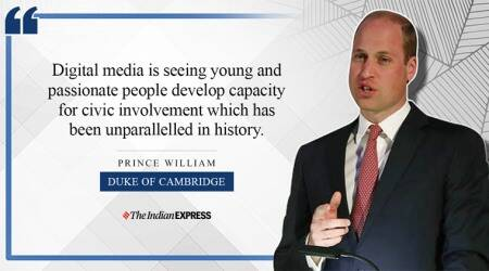 Duke of Cambridge, Prince William, indianexpress.com, indianexpress, lifepositive, inspiring video, inspiring speech, cyberbullying,