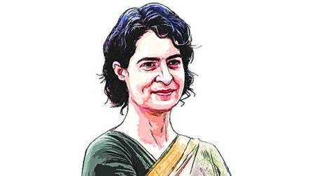 Priyanka Gandhi Vadra UP government over law and order, Priyanka gandhi vs up police, lucknow news, india news, uttar pradesh news, indian express news