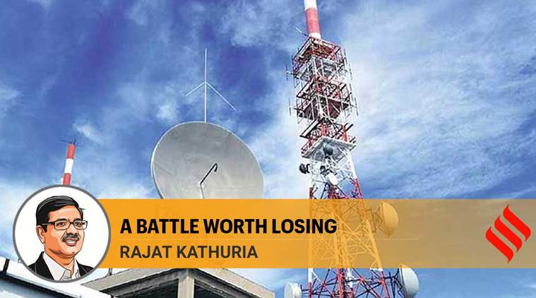 Dominance in the telecom sector can sometimes mean accommodating opponents, cushioning their fall