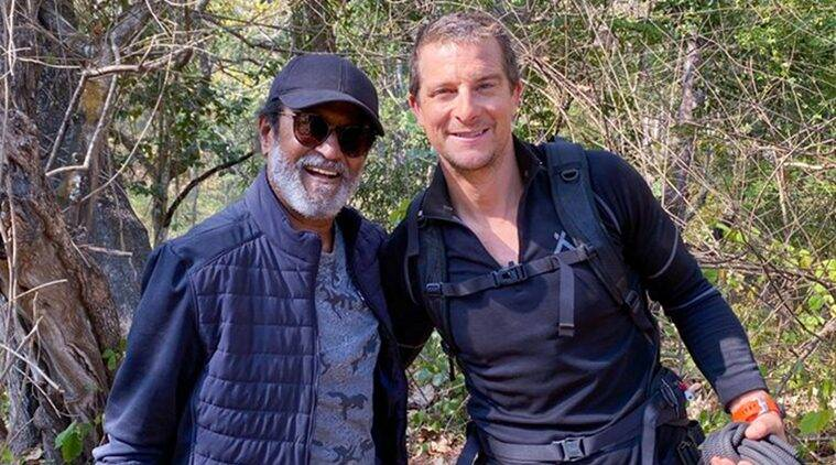 Rajinikanth Bear Grylls episode