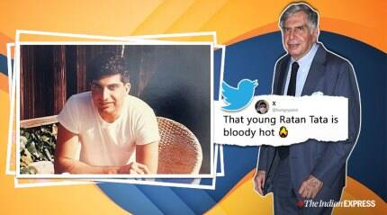 Ratan Tata's throwback photo is a hit online