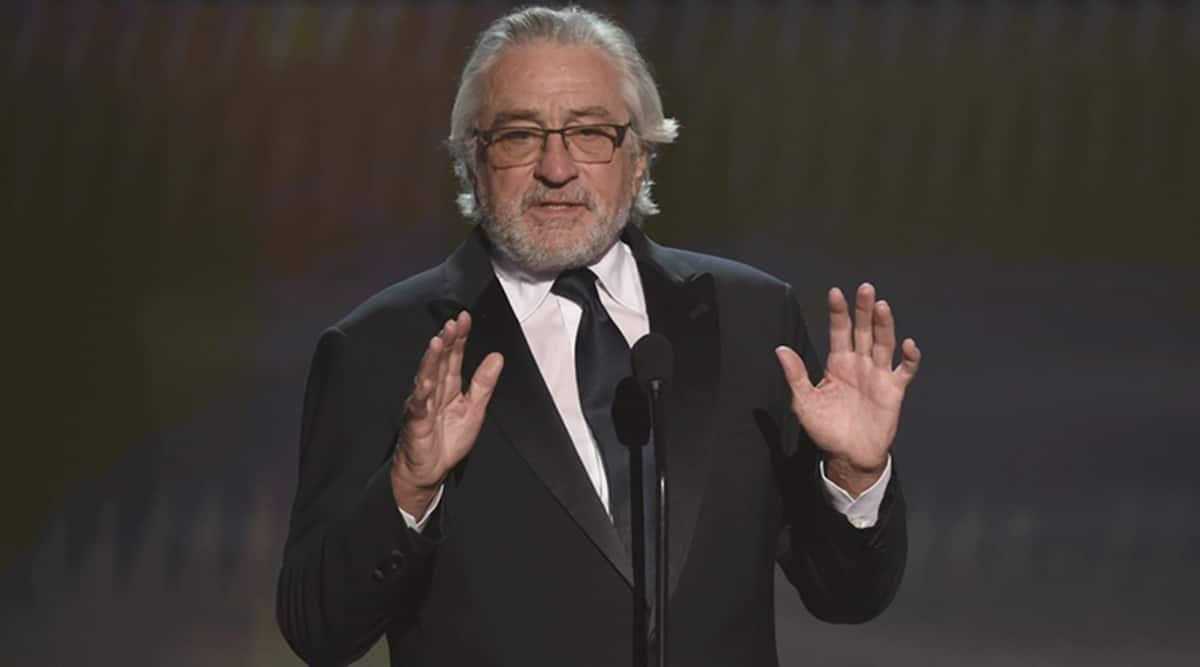 Robert De Niro sag speech