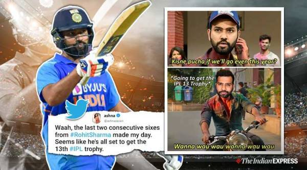 Rohit Sharma, India vs New Zealand, India vs New Zealand t20, Rohit Sharma, KL Rahul, Rohit sharma hitman, twitter reactions, indian express, indian express news