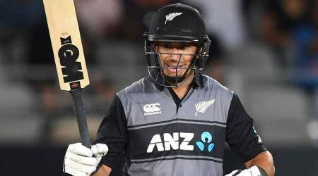 Ross Taylor, Ross Taylor 6th fifty, India vs New Zealand 1st T20I, IND vs NZ 1st T20I, New Zealand tour of India 2020, cricket news