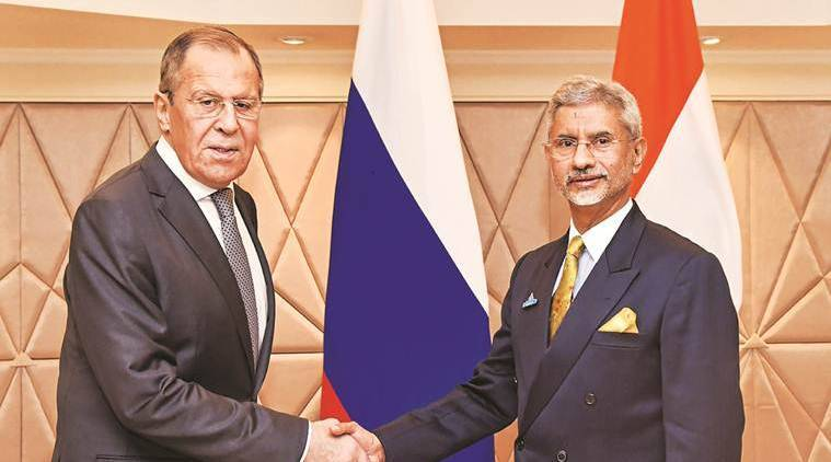india russia ties, indo pacific initiative, russia foreign minister, Russia foreign minister jaishankar meeting, s jaishhankar, indian express