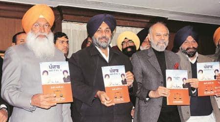 SAD, MP SS Dhindsa, Capt Amarinder Singh, MLA Parminder Singh Dhindsa, Harsimrat, Congress govt., Punjab, Punjab Latest News, Chandigarh, Indian Express
