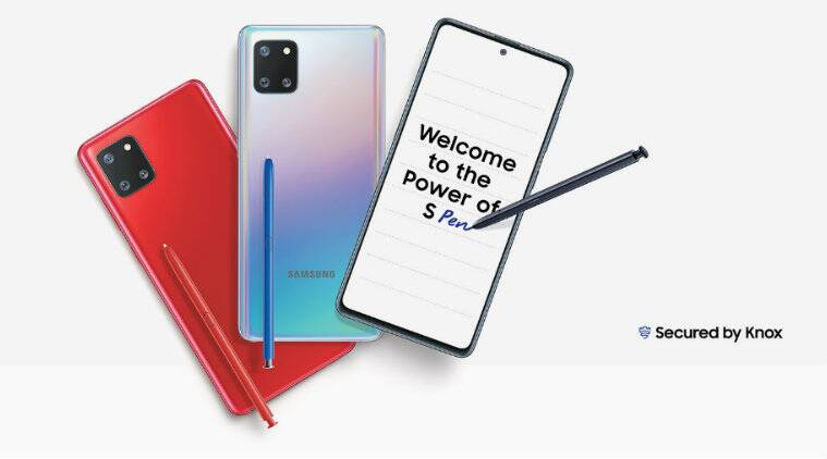 Samsung, Samsung Galaxy Note 10 Lite, Samsung Galaxy Note 10 Lite launched in India, Samsung Galaxy Note 10 Lite price, Samsung Galaxy Note 10 Lite price in India, Samsung Galaxy Note 10 Lite specs, Samsung Galaxy Note 10 Lite features, Samsung Galaxy Note 10 Lite specifications