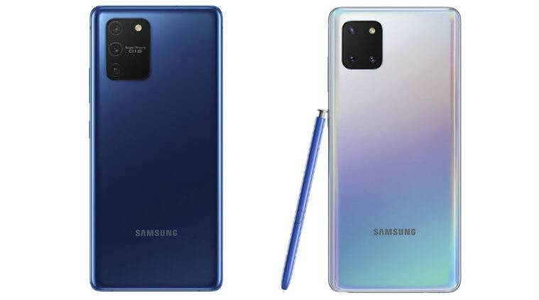 Samsung, Samsung Galaxy Note 10 Lite, Samsung CES 2020, Samsung Galaxy Note 10 Lite launched, Samsung Galaxy Note 10 Lite price, Samsung Galaxy Note 10 Lite specs, Samsung Galaxy Note 10 Lite specifications, Samsung Galaxy S10 Lite, Samsung Galaxy S10 Lite launched, Samsung Galaxy S10 Lite price, Samsung Galaxy S10 Lite specs, Samsung Galaxy S10 Lite specifications