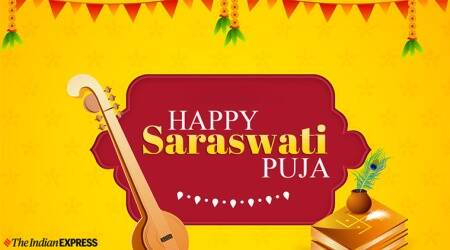 Happy Saraswati Puja Images 2020
