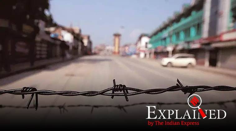 Section 144 Kashmir, What is Section 144, Section 144 law, Section 144 Supreme Court Kashmir order, Express Explained