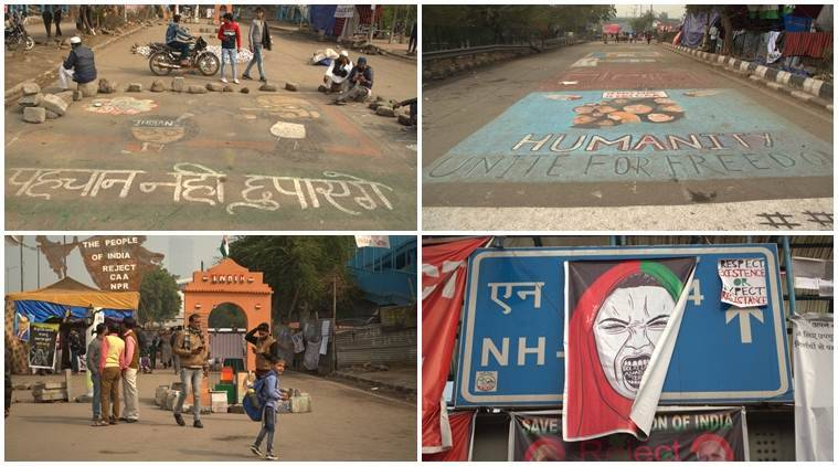 The colourful dissent: When Shaheen Bagh, Jamia become a canvas for protest