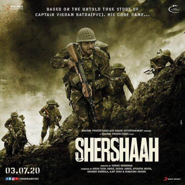 Shershaah posters