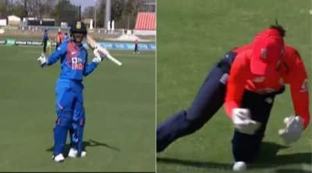 Smriti Mandhana out, Smriti Mandhana not out, Smriti Mandhana dropped catch, Smriti Mandhana tv umpire, Mandhana given not out, video Smriti Mandhana
