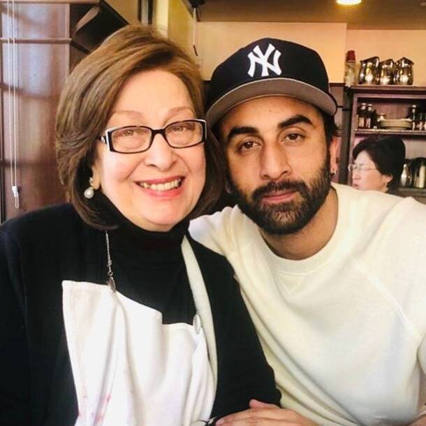 ranbir kapoor with late ritu nanda