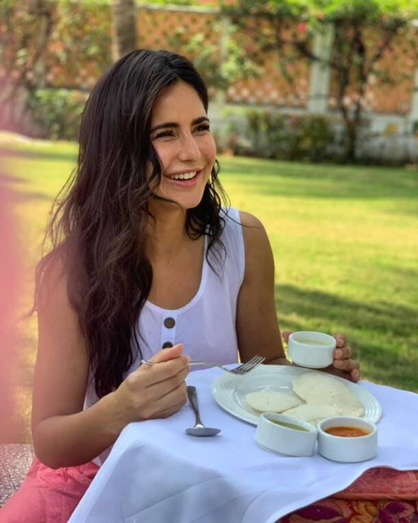katrina kaif breakfast