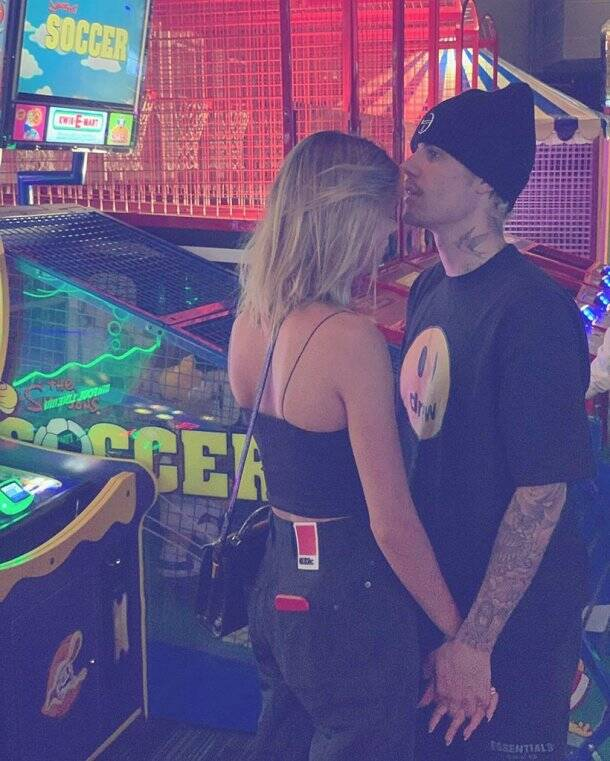 justin bieber with wife hailey baldwin