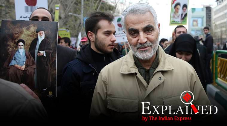 Who was Major General Qassim Soleimani, Baghdad airport strike, Iranian Revolutionary Guard Qassim Soleimani, Qassim Soleimani killed, express explained, Indian express