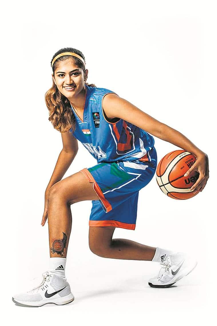 NBA Academy, five young indian women, USA basketball, Women's National Basketball Association, indian express news